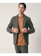 FREEMANS SPORTING CLUB JP TWEED OFF JACKET