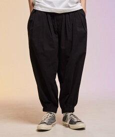 【SALE/20%OFF】rehacer Balloon Easy Pants レアセル パンツ/ジーンズ フルレングス ブラック ネイビー【送料無料】