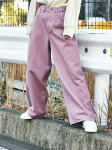 Lee WIDE COLOR PANTS