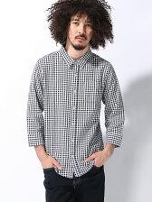 (M)ZIP FIVE 7分袖パナマシャツ
