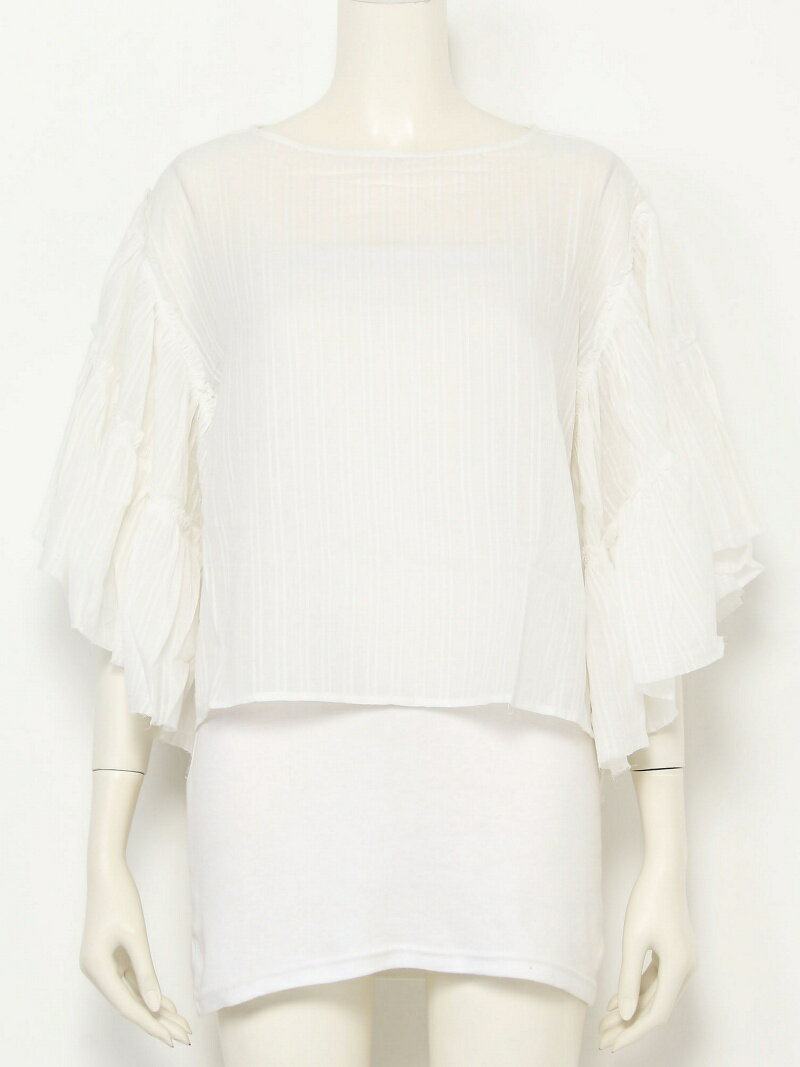 【SALE/45%OFF】TODAYFUL Butterfly Sleeve Blouse トゥデイフル シャツ/ブラウス【RBA_S】【RBA_E】【送料無料】