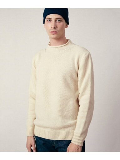 JP Roll Neck Knit UF87-12Y001: Off