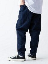 Big Pocket Wide Tapered Denim