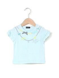 【SALE/50%OFF】チュール花束Tシャツ ベベ オンライン ストア カットソー【RBA_S】【RBA_E】