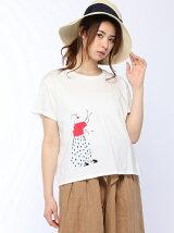 プリントTシャツピエロTシャツ
