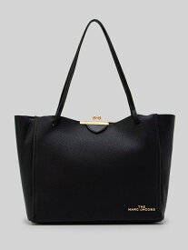 【SALE/50%OFF】MARC JACOBS THE KISS LOCK TOTE マーク ジェイコブス バッグ トートバッグ ブラック グレー【送料無料】