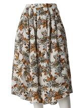 トロピカルフラワースカート