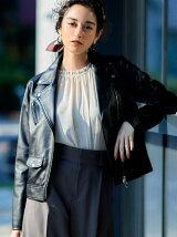 ◆KC SHEEPレザー ライダースジャケット
