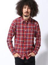 (M)ビエラチェックシャツ