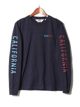 BEN DAVIS/LOGO LONG SLEEVE TEE