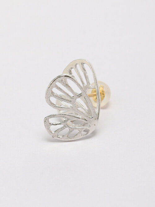 Butterfly pierced earrings C sta