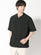 BEAMS LIGHTS / Breathable Band collar Shirt