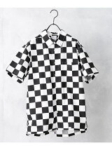 S/S BD CHECKER SHIRT