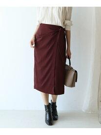 【SALE/70%OFF】le.coeur blanc ウエストコンシャスタイトスカート ルクールブラン スカート タイトスカート レッド グレー