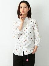 BEAMS BOY / プリント ボタンダウンシャツ 17AW ビームスボーイ