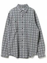 ビーミング by ビームス / チェック プリント カットソーシャツ BEAMS