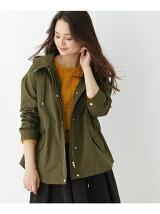 フード付きブライトツイルジャケット
