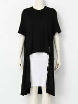 BACK LONG DRAPE T/S