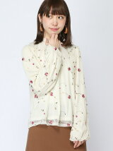 【emsexcite】花刺繍チュールP/O