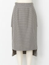 GUN CLUB CHECK PLEATS SKIRT