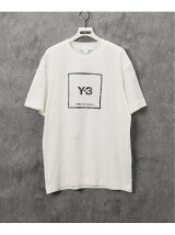 【Y-3 / ワイスリー】 U SQUARE LABEL GRAPHIC SS TEE