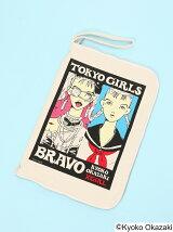X-girl×KYOKO OKAZAKI  CLUTCH BAG