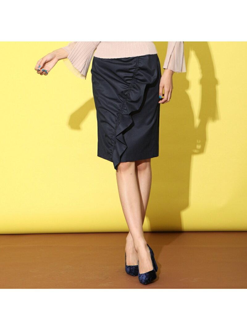 【SALE/60%OFF】QUEENS COURT ラッフルスカート クイーンズコート スカート【RBA_S】【RBA_E】【送料無料】