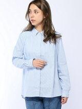 (W)無地ヨークギャザーシャツ・ブラウスPJ