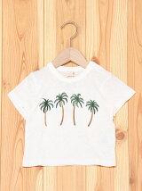 ヤシの木刺繍T