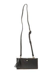(L)perche labo / 山羊革シュリンク型押しスマホポシェットショルダーバッグ