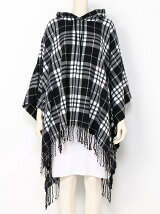 City poncho Check