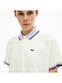 【SALE/50%OFF】LACOSTE リラックスフィットコントラストラインポロシャツ(半袖) ラコステ カットソー ポロシャツ【送料無料】