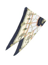ひし形プリーツスカーフ