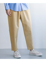 LIGHT TWILL BAGGY PANTS