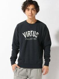 【SALE/80%OFF】VIRTUS VIRTUS/(M)スウェット ヒーローインターナショナル マーケット プレイス カットソー スウェット ネイビー ブラック グレー ブルー レッド グリーン