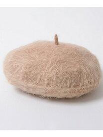 VICCI VICCIファーベレー帽 シルバーバレット 帽子/ヘア小物