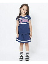 TOP AND SKIRT SET CHEER(4T-7T)