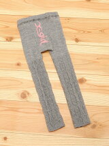 CABLE KNIT LEGGINGS LOGO(S)