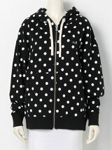 POLKADOT SWEAT ZIP H