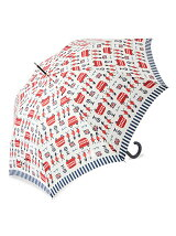 DM98 ロンドン柄長傘
