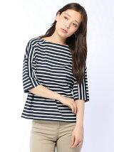 (W)ボーダーデザインTシャツ・カットソーJP(日本限定)