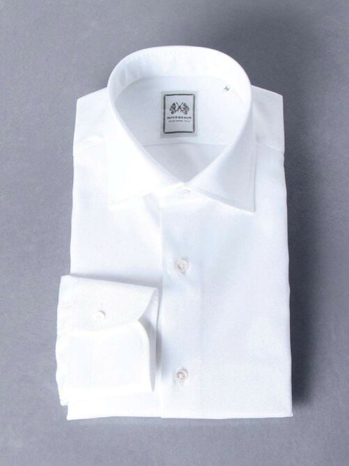 【UNITED ARROWS】<SOVEREIGN(ソブリン)>ツイルセミワイドカラーシャツを見る