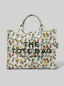 MARC JACOBS PEANUTS X MARC JACOBS THE SMALL TRAVELER TOTE BAG マーク ジェイコブス バッグ トートバッグ ホワイト【送料無料】