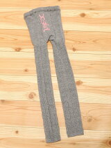 CABLE KNIT LEGGINGS LOGO(M,L)