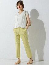 UBBT カラー スリム パンツ