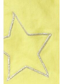星刺繍ショートパンツ