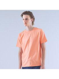 【SALE/40%OFF】ABAHOUSE LASTWORD 【ノンストレス】圧着クルーネックTシャツ アバハウス カットソー Tシャツ ピンク ホワイト ブルー【送料無料】