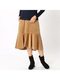 【SALE/73%OFF】COMME CA ISM コーデュロイ マーメイドスカート コムサイズム スカート ロングスカート ブラウン グリーン