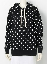 POLKA DOT SWEAT HOOD