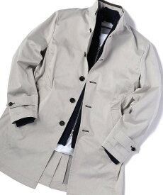 【SALE/50%OFF】MEN'S BIGI ストレッチスタンドカラースプリングコート メンズ ビギ コート/ジャケット ステンカラーコート グレー ベージュ ネイビー オレンジ【送料無料】